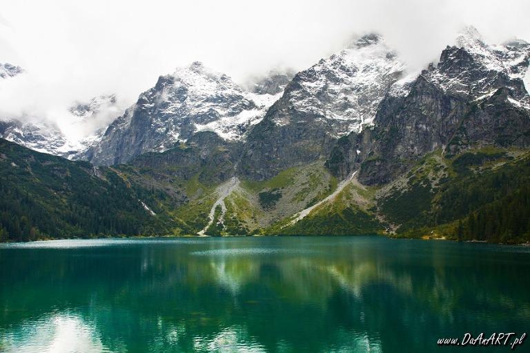 fotografia krajobraz zielona góra
